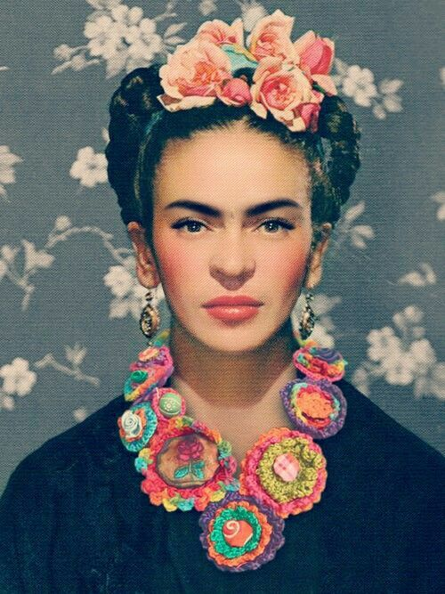 25 melhores ideias de frida kahlo no pinterest retratos. Black Bedroom Furniture Sets. Home Design Ideas