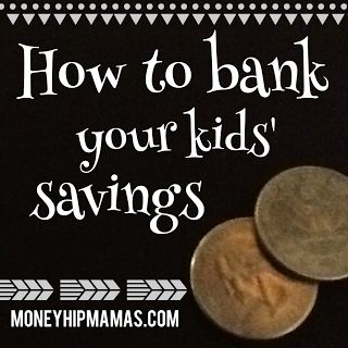 Where do you store your children's savings? In a piggy bank? In a real bank account? Do you keep track of it on paper for them? We discuss the pros and cons here.