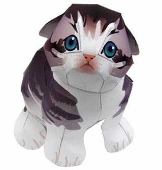 Animal Papercraft - Cat