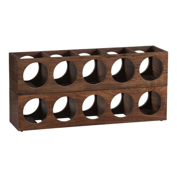wine racks - exactly what I've been looking for.