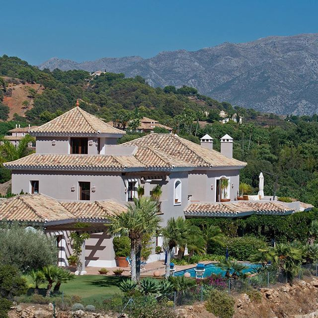 La-Zagaleta Benahavis Spain ... #LaZagaleta #Benahavis #Spain #familyhome  #spacious #accommodation #southerlyviews #Mediterranean #mountains #beautiful #maturegardens #heatedpool  #exclusive
