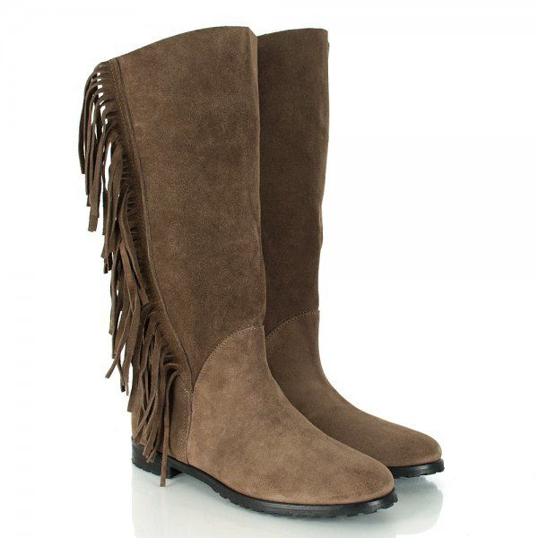Daniel Taupe Aida Women's Flat Knee Boot on shopstyle.com.au