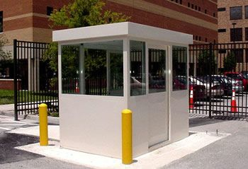 Vista Series Aluminum Security Booths