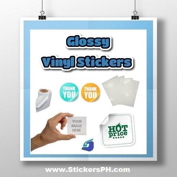 Custom Glossy Vinyl Stickers Print Vinyl Stickers Vinyl Sticker Print Stickers