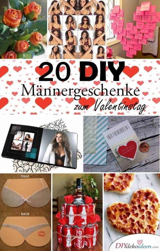 DIY Geschenkideen für Männer zum Valentinstag Valentinstag