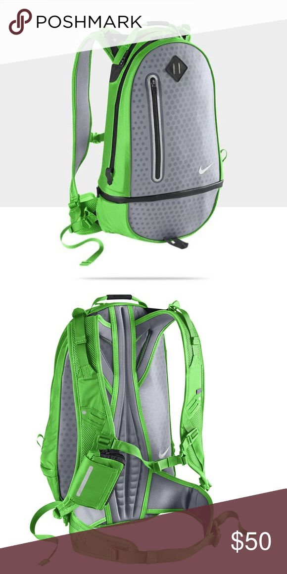 Nike Vapor Cheyenne Running backpack The pictures are from online but I have the same backpack. It's a little wear and tear but in great shape. You can run in it or just use it around town. Nike Bags Backpacks