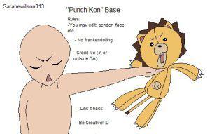 'Punch Kon' base