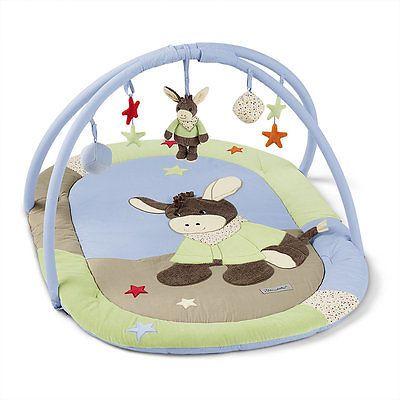 Krabbeldecke mit Spielbogen Emmi der Esel STERNTALER 91214 in Baby, Spielzeug, Krabbeldecken | eBay
