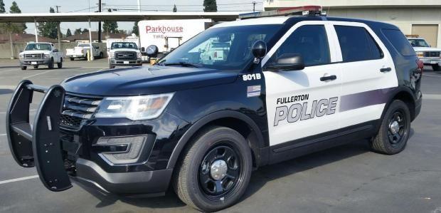 Ca Fullerton Police Dept Police Cars Police Police Dept