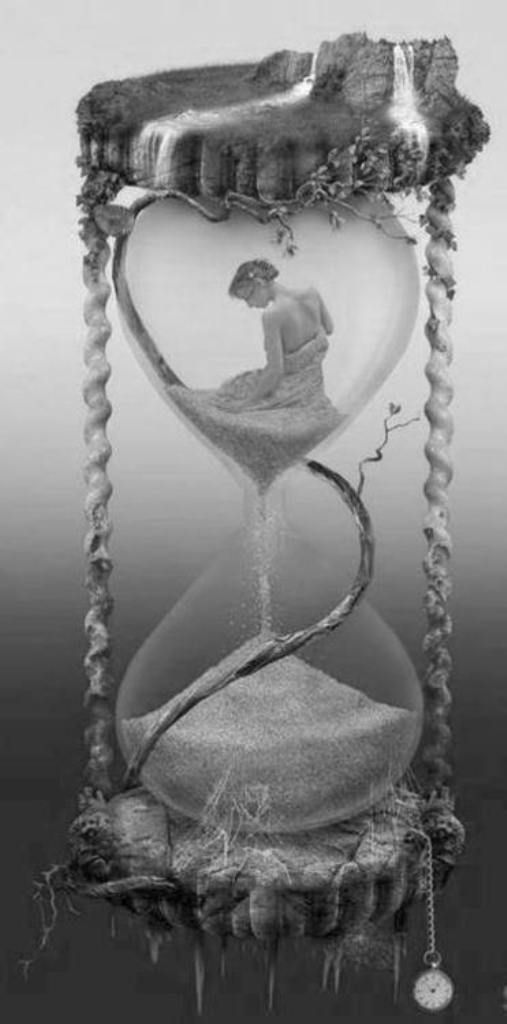 Love is like an hourglass, with the heart filling up as the brain empties.   Jules Renard