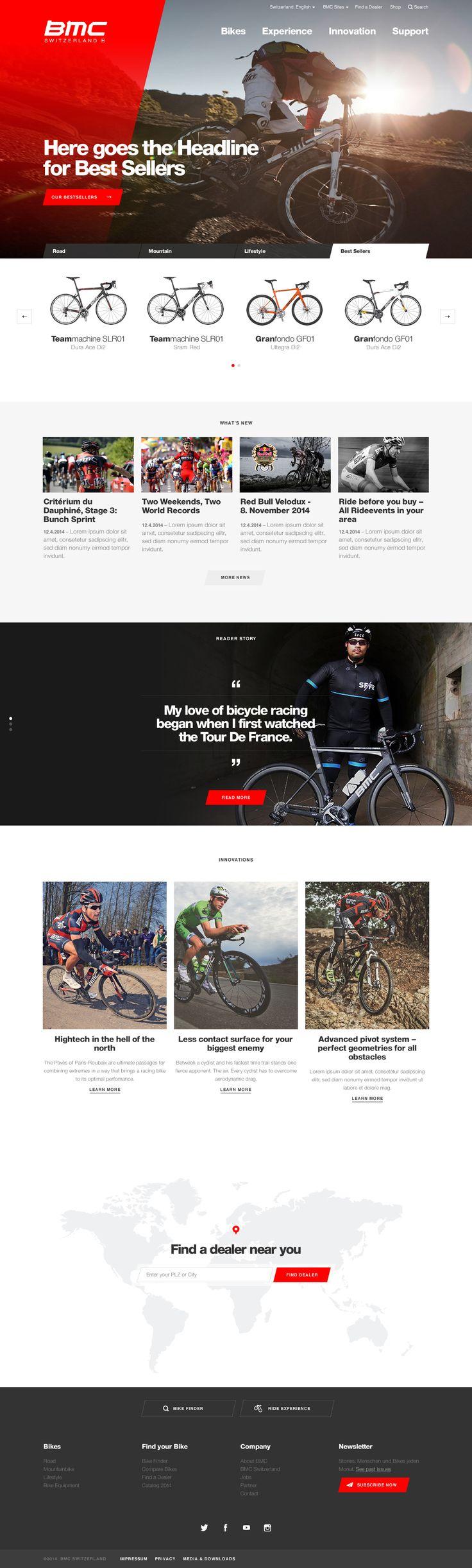 BMC - Relaunch Website BMC Switzerland AG  #webdesign #hinderlingvolkart #design #indentity #ux #ui  http://www.hinderlingvolkart.com/de/projekte/detail/bmc-rlaunch-website.html
