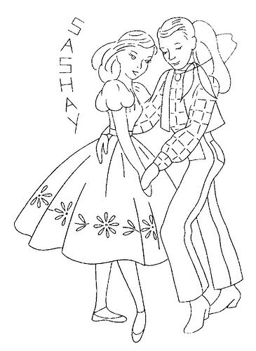barn dance coloring pages - photo#10
