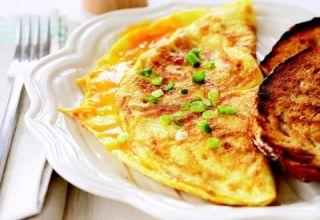Омлет с курицей с сыром Мадригал