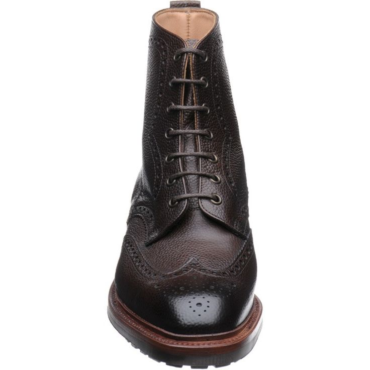 Alfred Sargent shoes | Alfred Sargent Country | Hannover boot in Walnut Grain at Herring Shoes