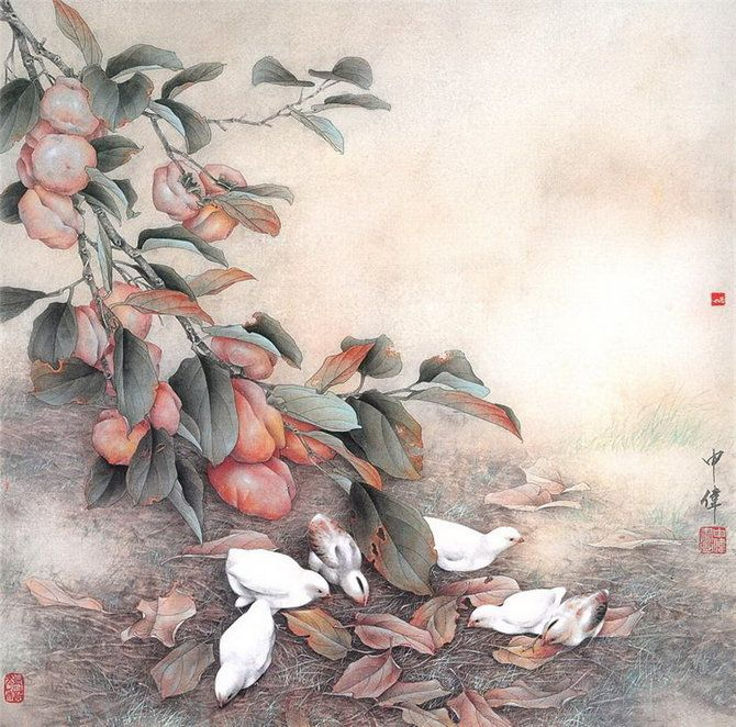 Chinese Painting by Shen Wei | Art Pictures