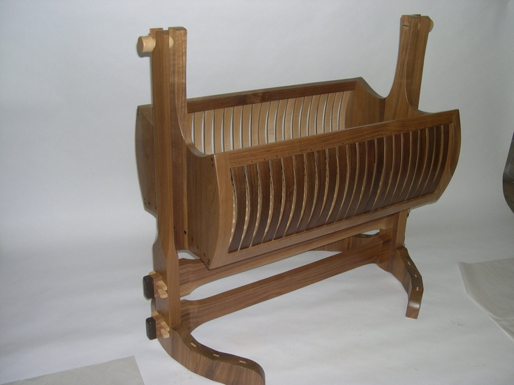 Viking Baby Cradle by SteckmestFurniture on Etsy (Because you know if it has to do with Vikings, I have to have it!)