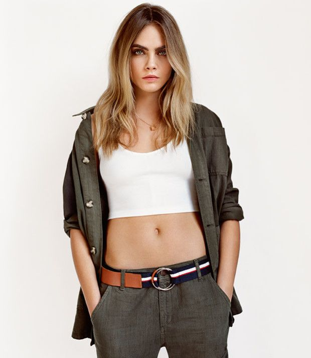 Cara Delevingne Is Back As The Face Of Topshops Spring Summer 2015 Campaign After Fronting High Street Brands Advertisements For Several Seasons Now