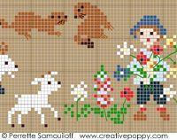 Perrette Samouiloff - Happy Childhood Collection - Mountain (cross stitch)