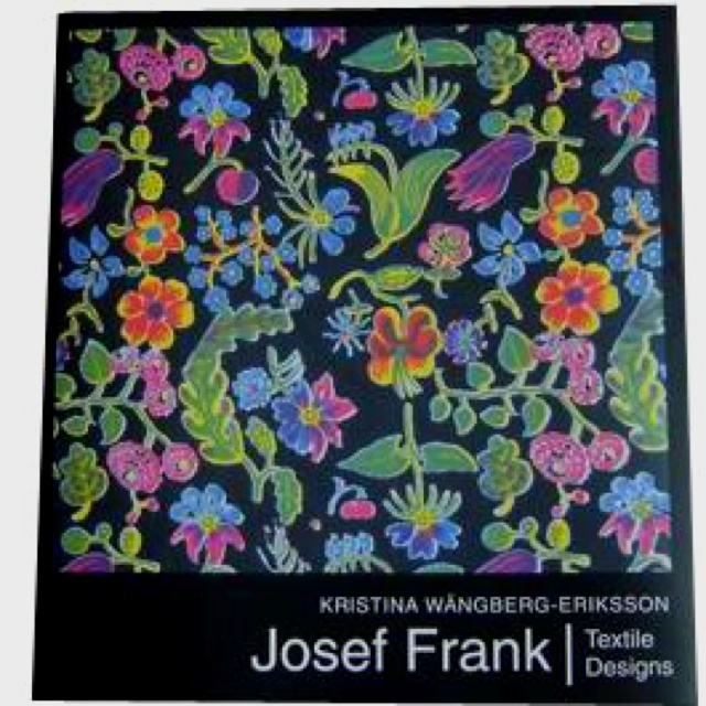Josef Frank-textile book