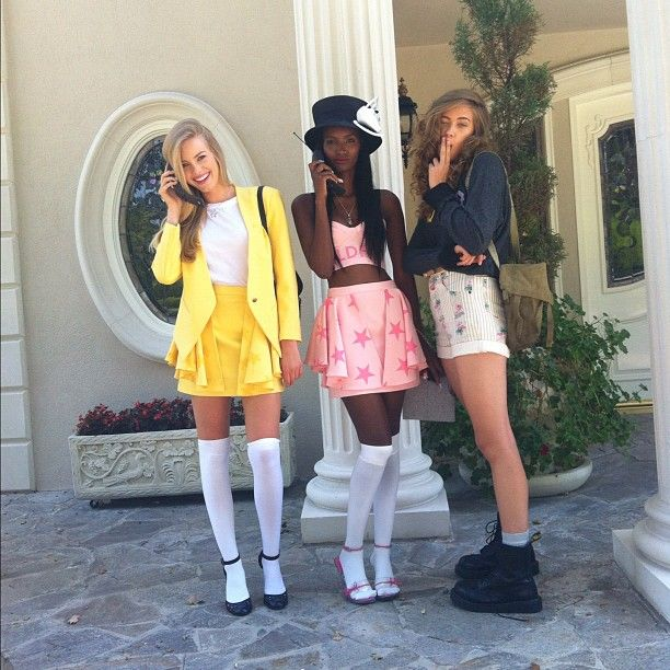 clueless halloween costumes - Halloween Costumes Three Girls