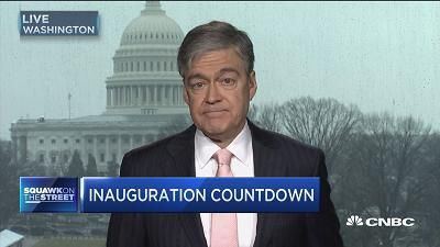 CNBC's John Harwood reports the latest on President-elect Trump in the run-up to the inauguration.