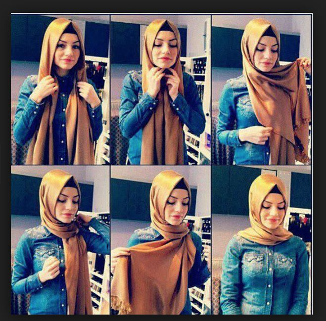 i really like the pointy hijab kinda trend, credit to owner,  #hijabtutorial #hijabstyle #hijab #style #fashion