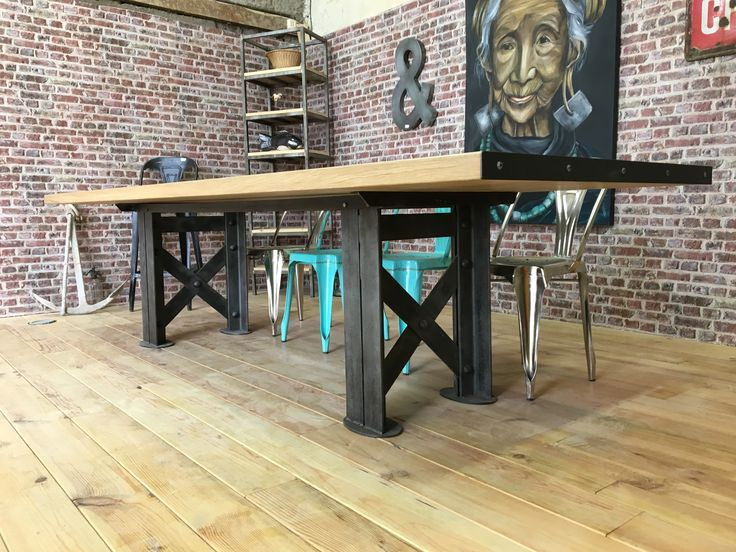 180 best indus table images on Pinterest Black oxide, Dining table