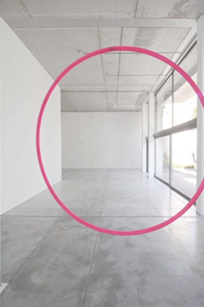 ...Pink Installations, Pink Circles, Baronian Art, Art Gallery, Lionel Estév, Lionel Estèv, Lionel Esteve, Art Highlights, Artists Lionel