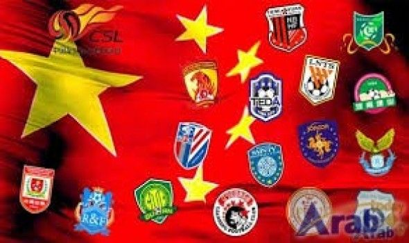Chinese Super League soccer standings