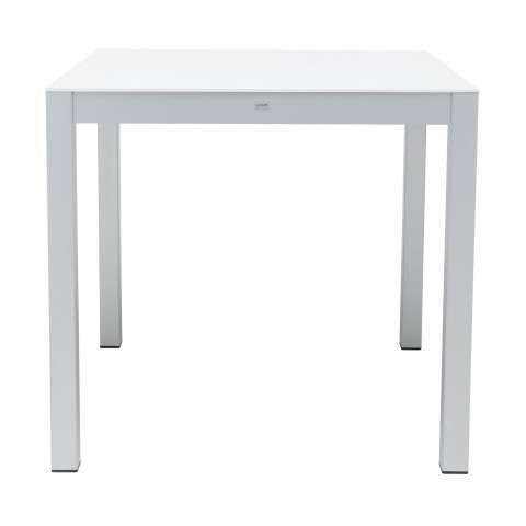Quadrat HPL Tisch Gestell weiß weiß160x80-A057067.000-01 | Terrasse ...