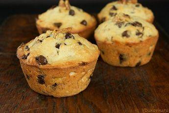 Маффины иди кексы с шоколадной крошкой / Веганские и вегетарианские рецепты / Рецепты в духовке