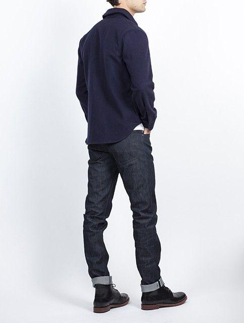Gerald stewart by fidelity raleigh denim cpo shirt for Fidelity cpo shirt jacket
