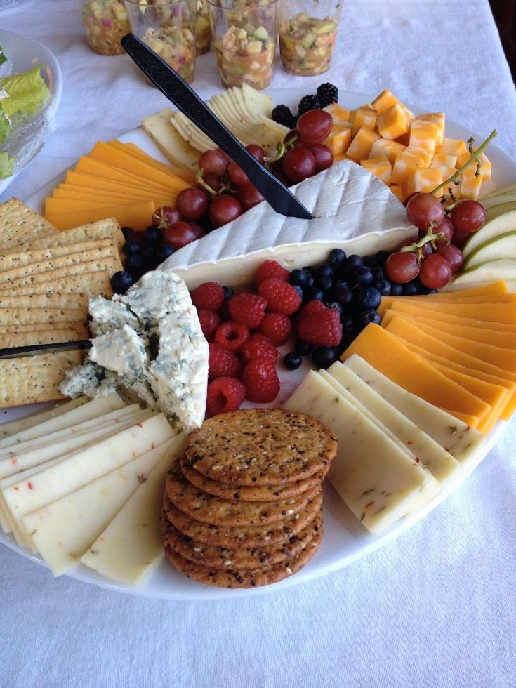 Catering: Sample Cheese Platter