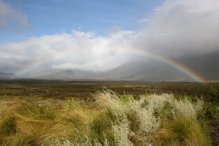 And at the end of this rainbow, we found Haute Cabriere cellar!