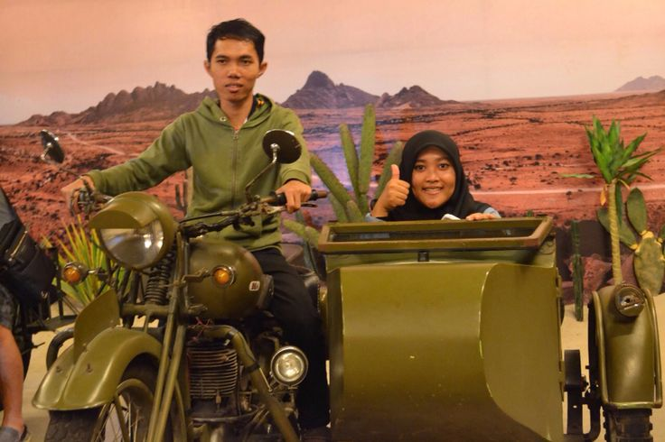 One of bike collection at Museum Angkut, Malang.