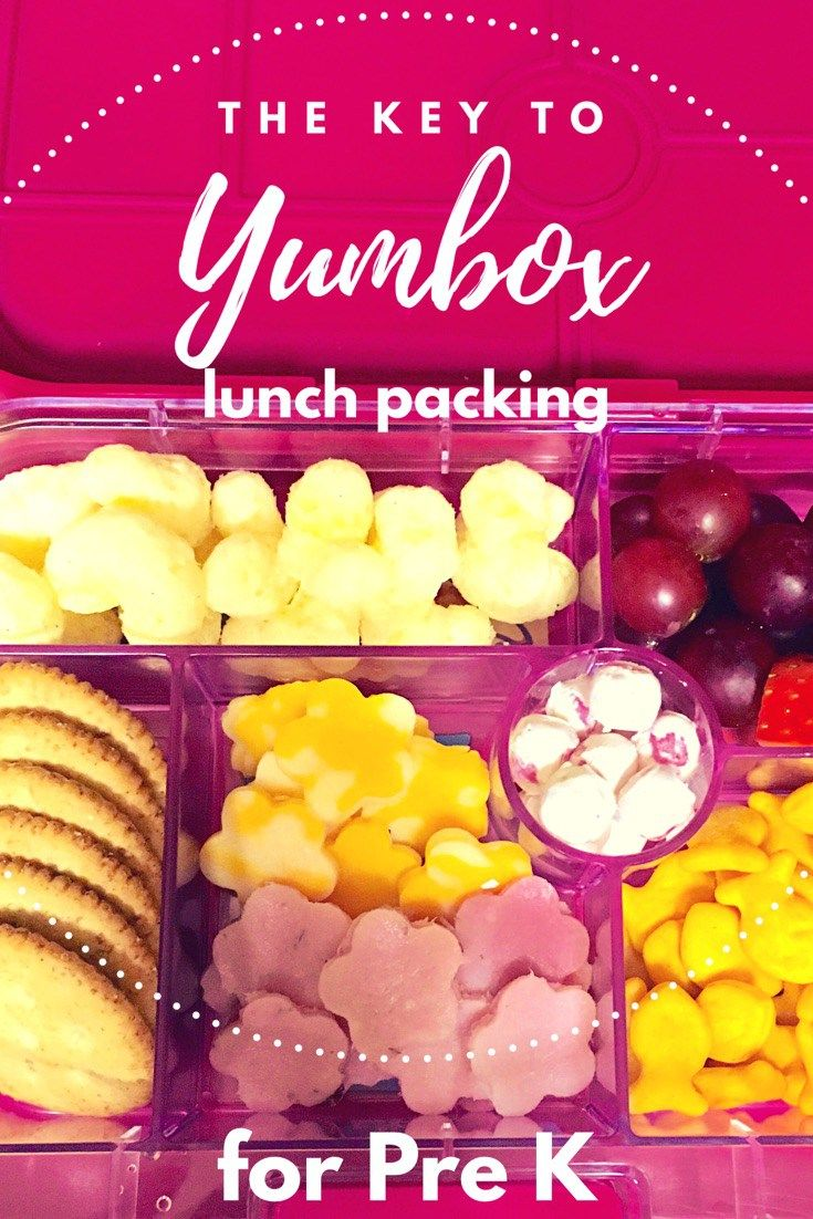 Yumbox lunch ideas for pre-k Lunch Packing for school