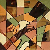 CUBIST PAINTINGS – Original Cubist Paintings at NOVICA