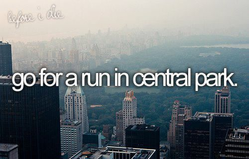 i'll do that once ... if u live in NY dont laugh at me :D