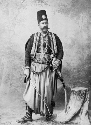 Syrian man in traditional costume