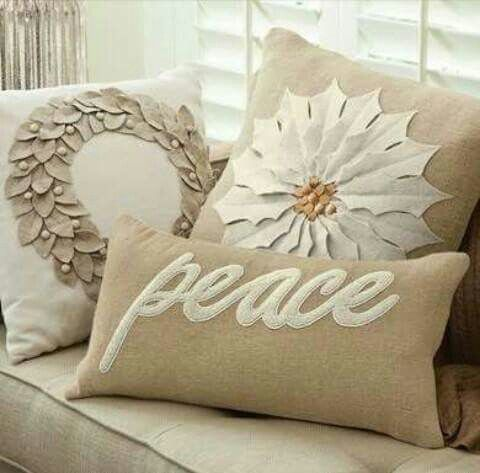 Cute Christmas cushions.