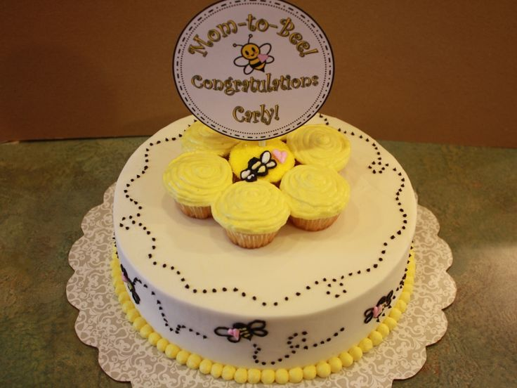 Bumble Bee Cake Toppers