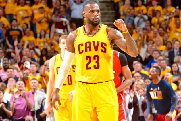 Hawks vs. Cavaliers: Game 4 Score and Twitter Reaction from 2015 NBA Playoffs
