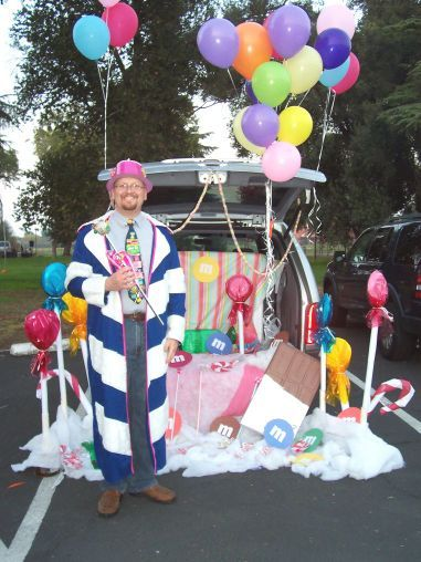 candyland  trunk or treat and trunks on pinterest