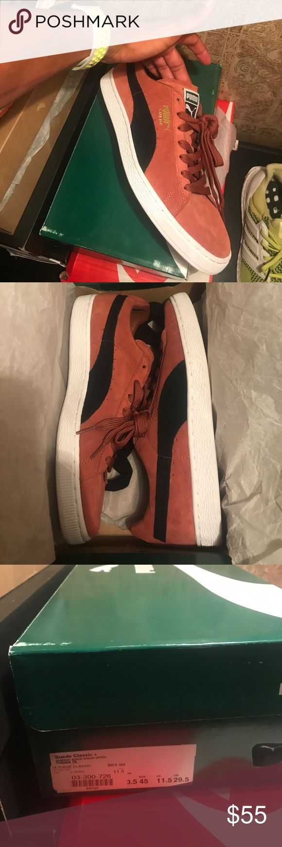 Puma suede classics Brand new size 11.5 puma suede classics with the box. Never been worn before! Puma Shoes Sneakers