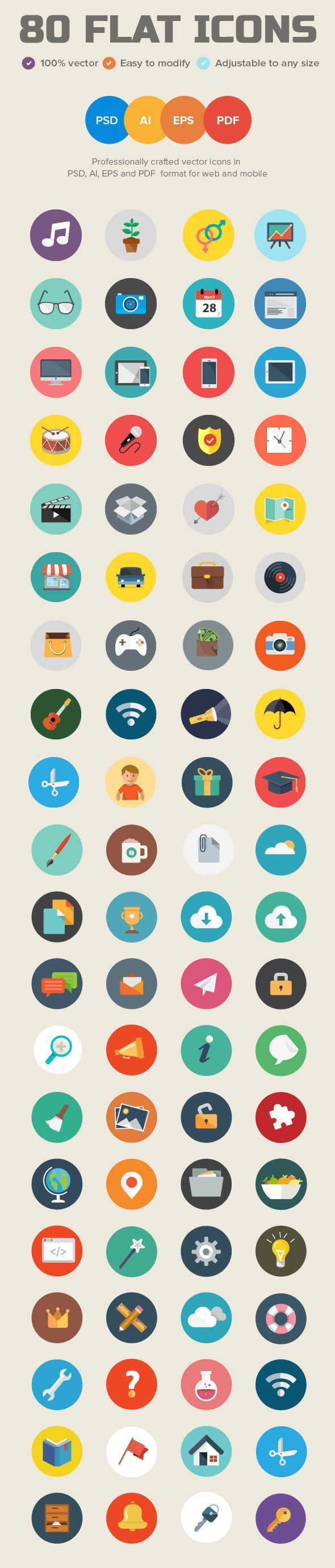 Professionally designed Vector icons in PSD, AI, EPS and PDF for web and mobile …