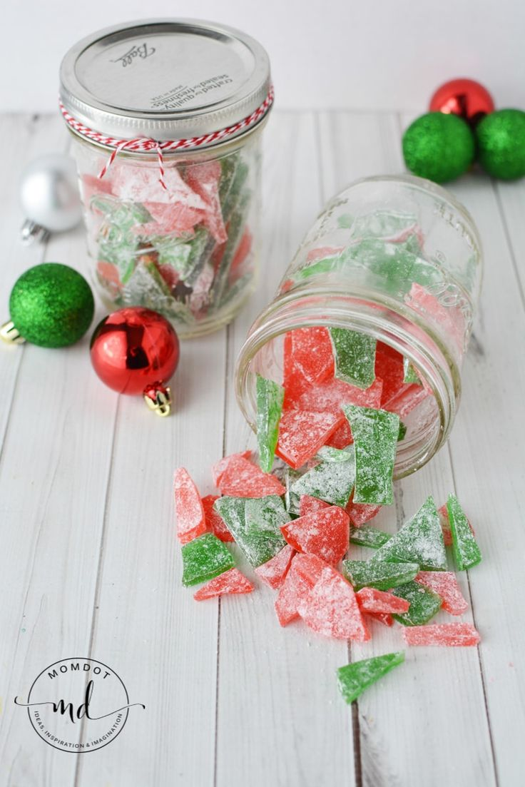 Cinnamon Rock Candy Recipe   Christmas Rock Candy  How to make Rock Candy