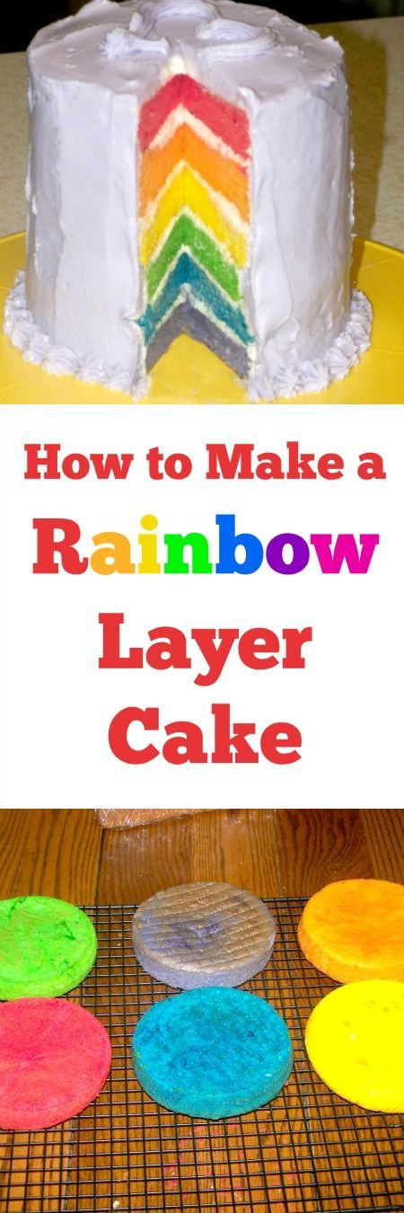 how to make a multi layer cake