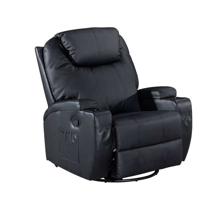 Frivity Rocker Recliner Classic and Traditional Bonded Leather 360 Degree Swivel Recliner Chair 1  sc 1 st  Pinterest & Best 25+ Traditional recliner chairs ideas on Pinterest | Beach ... islam-shia.org