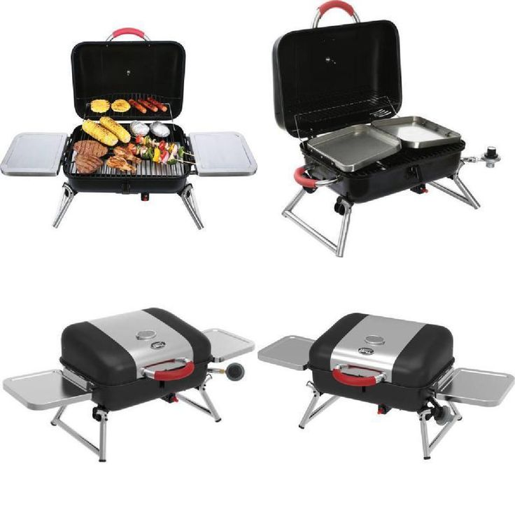 Grill Tabletop Gas BBQ Cooking Grilling Portable Small Expert Barbecue Camping  #BBQGrill