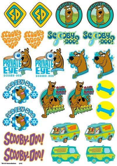 1000 images about scooby doo printables on pinterest for Scooby doo cake template